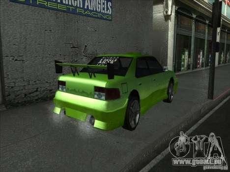 Couleurs plus vives pour les voitures pour GTA San Andreas