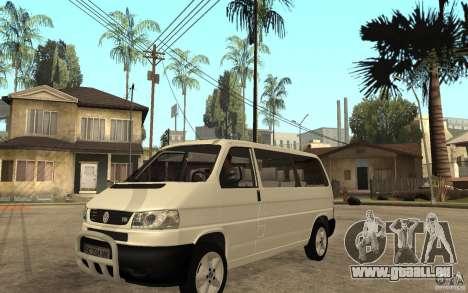 Volkswagen Transporter T4 für GTA San Andreas