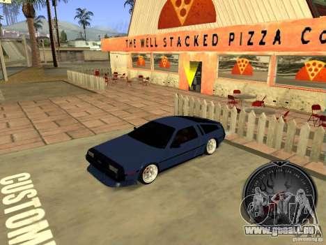 Delorean DMC-12 Drift pour GTA San Andreas