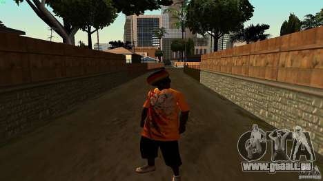 Jamaican Guy für GTA San Andreas zweiten Screenshot