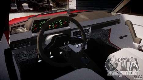AZLK Moskvitch 2141 STR-v 2.1 pour GTA 4 est un droit