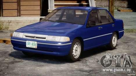 Mercury Tracer 1993 v1.0 pour GTA 4