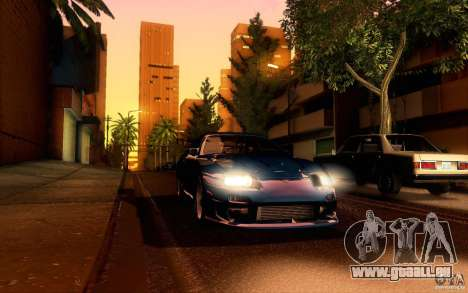 Toyota Supra Top Secret für GTA San Andreas Seitenansicht