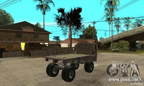 Fast Five Sand King pour GTA San Andreas vue de droite