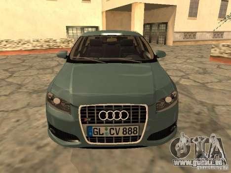 Audi S3 Sportback 2007 für GTA San Andreas linke Ansicht