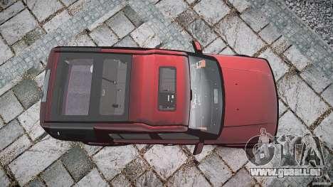 Land Rover Discovery 4 2011 pour GTA 4 vue de dessus