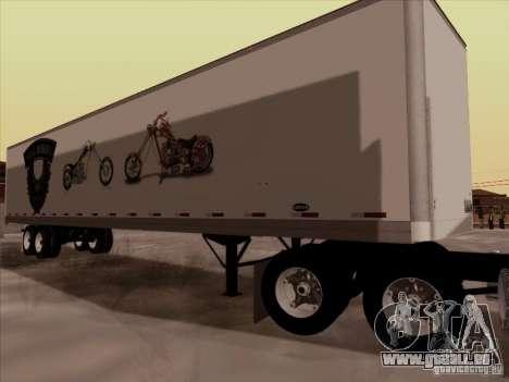 Hell Riders American pour GTA San Andreas vue de droite