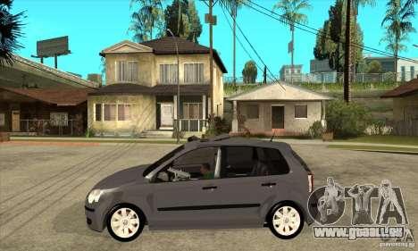 Volkswagen Polo 2008 für GTA San Andreas linke Ansicht