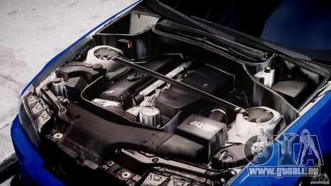 BMW M3 E46 Tuning 2001 für GTA 4 Rückansicht