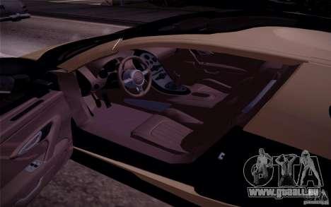 Bugatti Veyron Grand Sport Classic Final pour GTA San Andreas vue arrière