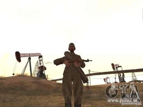Un soldat soviétique pour GTA San Andreas deuxième écran
