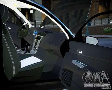 Volvo C30 2009 für GTA 4 obere Ansicht