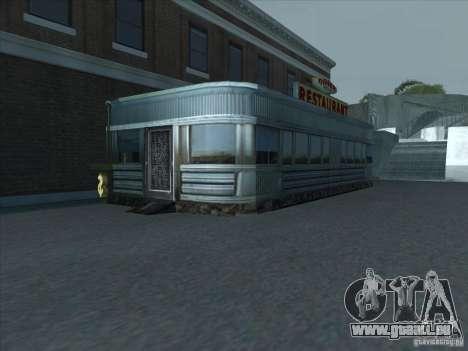 Affaires juridiques Cidžeâ pour GTA San Andreas quatrième écran
