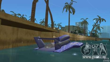 Miss Bud pour GTA Vice City sur la vue arrière gauche