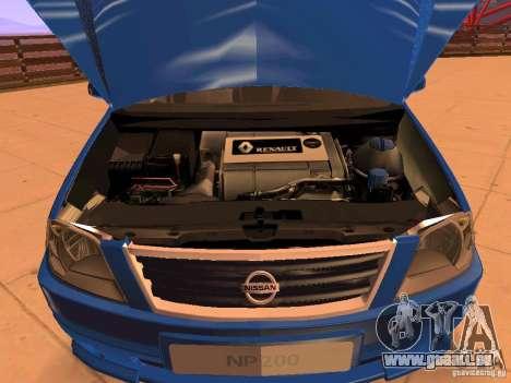 Nissan NP200 pour GTA San Andreas vue de côté