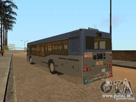 MAZ 103 pour GTA San Andreas sur la vue arrière gauche
