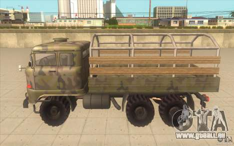 IFA 6x6 Army Truck pour GTA San Andreas laissé vue