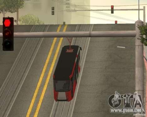 LM-2008 pour GTA San Andreas vue de côté