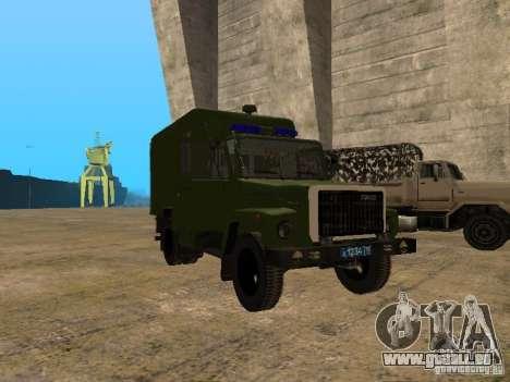 GAZ 3309 Paddy wagon für GTA San Andreas
