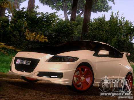 Honda CR-Z Mugen 2011 V2.0 pour GTA San Andreas vue arrière