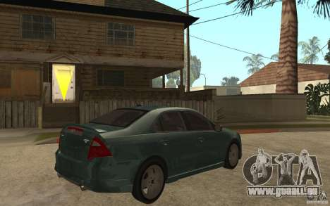 Ford Fusion 2010 für GTA San Andreas rechten Ansicht