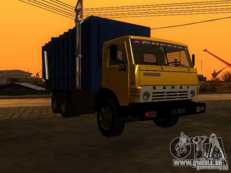 KAMAZ 53212 Müllwagen für GTA San Andreas