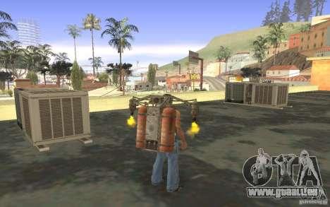 Jetpack im Stil der UdSSR für GTA San Andreas achten Screenshot