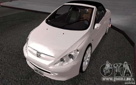 Peugeot 307CC BMS pour GTA San Andreas vue arrière