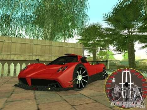 Nouveau compteur de vitesse Lincoln pour GTA San Andreas