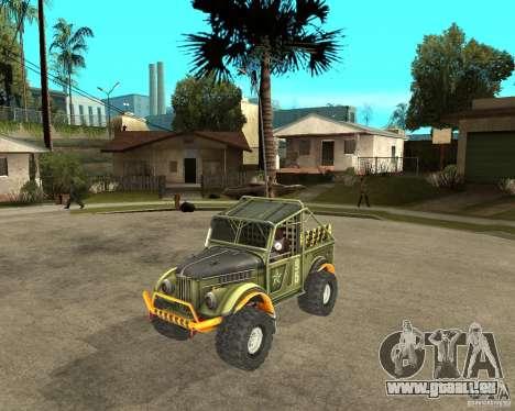 GAZ 69 Testversion für GTA San Andreas