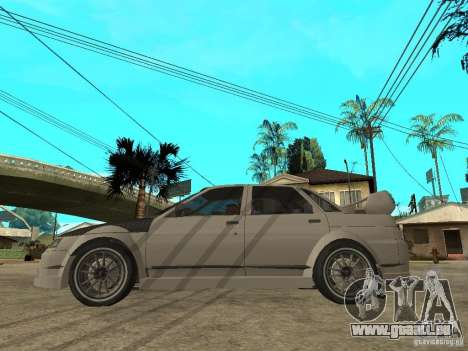 VAZ 2110 WRC 2.0 für GTA San Andreas linke Ansicht