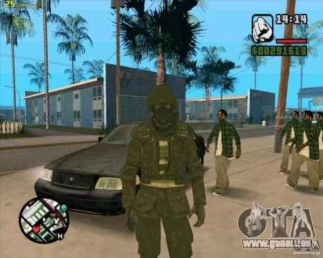 Peau SAS pour GTA San Andreas
