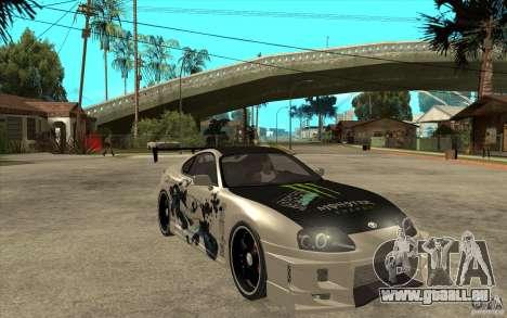 Toyota Supra 1995 Street Edition pour GTA San Andreas vue arrière