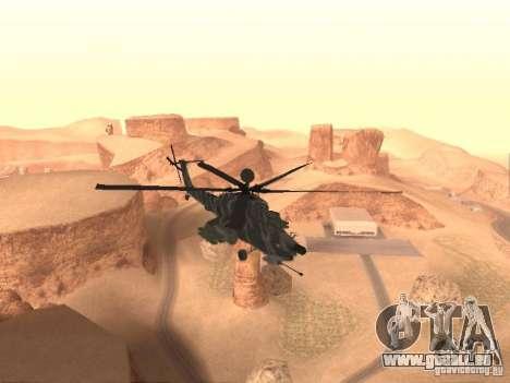 MI 28 Havok pour GTA San Andreas