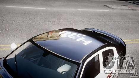 Dodge Charger SRT8 Police Cruiser pour GTA 4 est une vue de l'intérieur