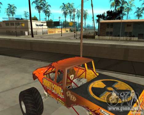 Mighty Foot pour GTA San Andreas vue de droite