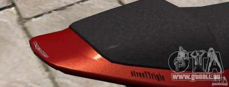 PCJ600 to Triumph StreeTTriple für GTA 4 hinten links Ansicht