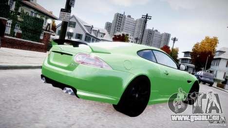 Jaguar XKR-S 2012 für GTA 4 hinten links Ansicht