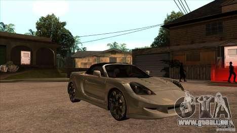 Toyota MR-S Veilside für GTA San Andreas Rückansicht