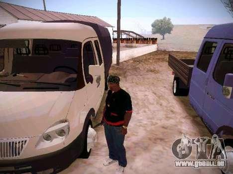 Gazelle 33023 für GTA San Andreas Unteransicht