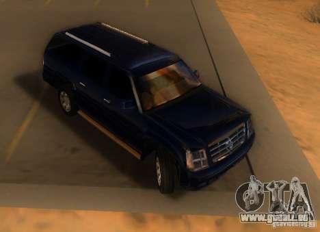 Cadillac Escalade ESV 2006 für GTA San Andreas linke Ansicht