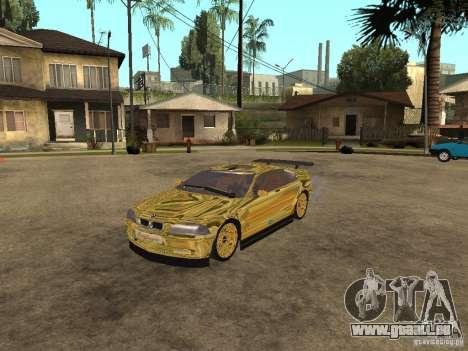 BMW M3 Goldfinger für GTA San Andreas