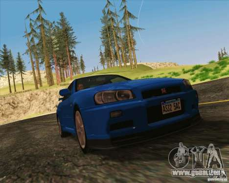 NFS Run ENBSeries für SAMP für GTA San Andreas dritten Screenshot