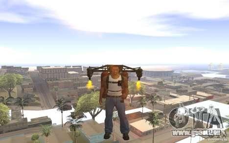 Jetpack im Stil der UdSSR für GTA San Andreas her Screenshot