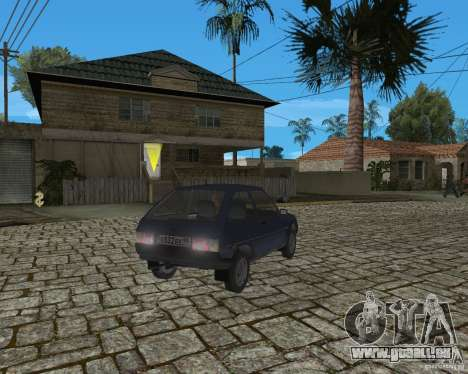 ZAZ Tavria 1102 pour GTA San Andreas vue de droite
