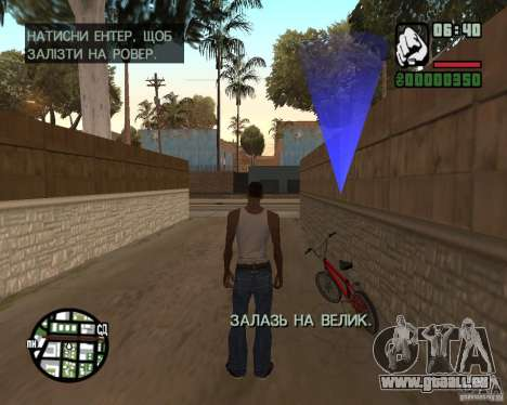 Ukraïnizator 2.0 pour GTA San Andreas sixième écran