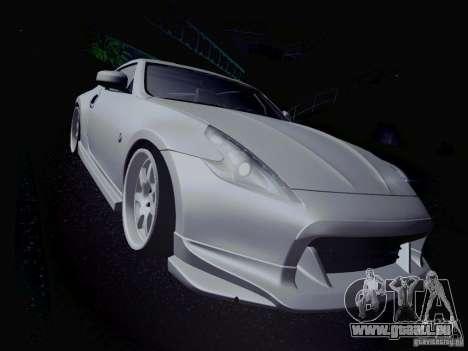 Nissan 370Z Fatlace pour GTA San Andreas salon