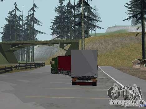 Renault Magnum pour GTA San Andreas vue arrière