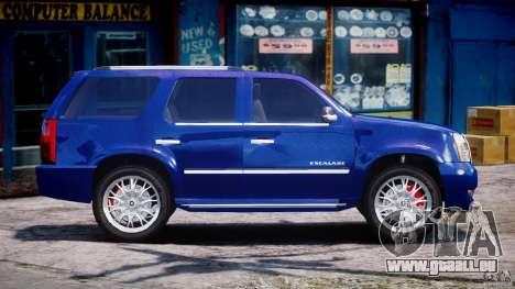 Cadillac Escalade [Beta] pour GTA 4 est un côté