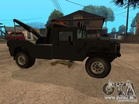 H1 HUMMER-LKW für GTA San Andreas rechten Ansicht